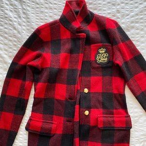 Ralph Lauren Plaid Coat